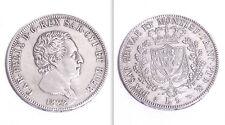 REGNO DI SARDEGNA LIRE 5 1822 ZECCA di TORINO - CARLO FELICE - RICONIO D'EPOCA