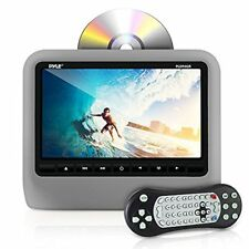 "Pyle PLD94GR Universal Car Headrest Mount Monitor - 9"" Multimedia DVD Player"