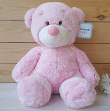 Aurora Bonnie Bear Baby Soft Toy Teddy Pink Toddler Baby Shower 11 In Girl Boy
