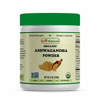 Best Naturals USDA Certified Organic Ashwagandha Powder 8 OZ (240 Gram),