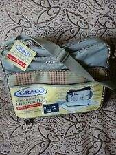 Graco Diaper Bag. Gray with brown accents Brand new