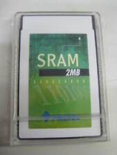 PRETEC 2MB SRAM PCMCIA,2MB CARDS with BATTERY BACK UP +++EXTRA NEW BATTERY