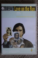 LOVE ON THE RUN - RARE DELETED DVD FRENCH FILM FRANCOIS TRUFFAUT ANTOINE DOINEL