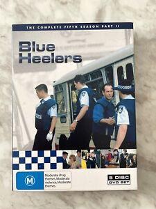 Blue Heelers Season Series Fifth 5 Part 2 II DVD (5 Disc Set) Australian TV Show