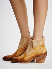 Faryl Robin + Free People Mustard Williams (Dover) Ankle Boots Size 8 NWOB