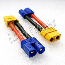 EC3 Stecker auf XT60 Buchse 12AWG !!! Adapter Lade Kabel LiPo Akku