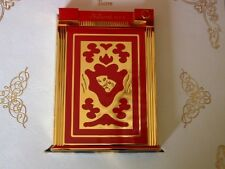 ST DUPONT TEATRO JEROBOAM RED TABLE LIGHTER, BNIB