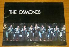 The Osmonds Souvenir Concert Program 1976 24 pages