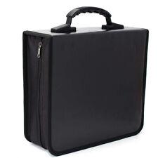 Portable 520 Disc CD DVD Storage Bag PU Leather Wallet Holder Case Box Organizer