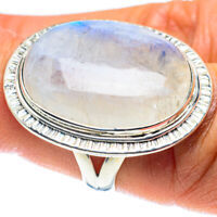 Rainbow Moonstone 925 Sterling Silver Ring Size 7 Ana Co Jewelry R58822F