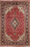 Medallion Traditional Floral Area Rug Wool Hand-Knotted Dining Room Carpet 6x10
