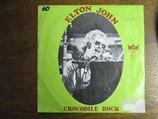 ELTON JOHN 45 TOURS BELGIQUE CROCODILE ROCK+