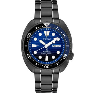 New SEIKO Prospex Automatic Turtle Stainless Steel Blue Dial Men's Watch SRPD11