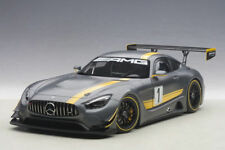 AUTOART MERCEDES BENZ AMG GT3 PRESENTATION CAR #1 GREY 1:18 *New Item!