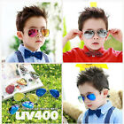 Boy Girl Sunglasses Retro Metal Frame Children Kids Aviator Sun Glasses New Cool