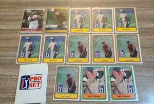 1980's Donruss, Pro Set Golf 12 Card Lot EX-NM