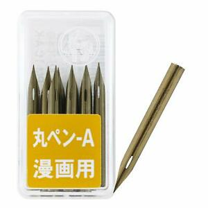 Zebra Comic Pen Nib, Mapping Pen Maru Pen Pack of 10 PM-1C-A-K From Japan New
