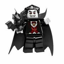 Lego minifigure  Series 2  Batman  Halloween  Vampire  With Bat  Dracula  2010