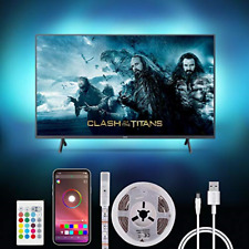 New listing LED TV Backlight 2m USB Led Strip Light with APP Control for 40-55 Inch TV with