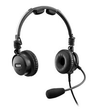 BNIB NEW GENERATION TELEX AIRMAN 8 ANR Headset G/A dual plugs p/n Airman8-0210