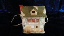 1987 Brinn's Porcelain Dickens Christmas Village Fezzwig House