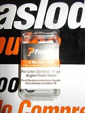 Paslode 902473  No Mar Tip 3 Pack 16 Ga. Angled Li-ion Trim Gun FITS 902400