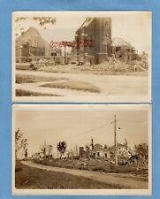 More details for 2 cyclone tornado damage disaster photos fergus falls minnesota 1919 ref  t779