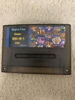 800 in 1 DSP 2.5 Super Nintendo SNES Flash Multi Cartridge 8GB SD Card