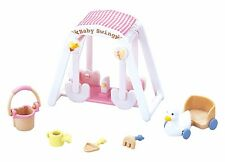 New Sylvanian Families furniture Doll Accessory baby swing set Epoch From Japan