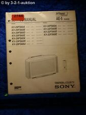 Sony Service Manual KV 29FS60D / A /B /E /K /R /U 32FS60D (#2744)