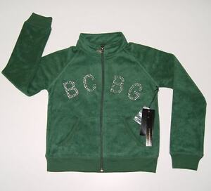 Bcbg Max Azria Girls Green Terry Jacket & Pants sz 6 NWT $220