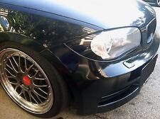 BMW 1 Series E82 E88 Headlight Overlay Eyelid Amber Gone Removal 128i 135i 1M
