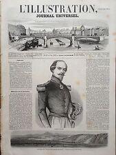 L' ILLUSTRATION 1854 N 607 LE GENERAL FRANCOIS CANROBERT LA GUERRE DE CRIMEE