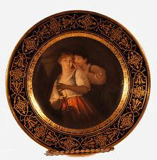 Royal Vienna Plate Ahne Schauer Austria 19th century