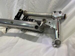 """Rare Vintage Girvin Vector 2 Front Fork & Stem Set  26"""" MTB USA OG Aluminum Old"""
