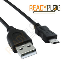 10ft USB Cable for Vertu Ti Data Charger Computer Sync Cord Charging (Black)