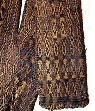 Pre-Columbian Tiahuanaco Culture Woven Sash Camelid Wool