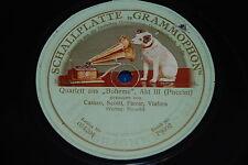 """CARUSO, Scotti, Farrar, Viafora """"BOHEME: Addio dolce svegliare"""" Grammophon 79002"""