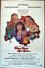 """""""WHEN TIME RAN OUT..."""" Volcano threatens Pacific Island - 27x41  - Movie poster"""