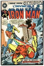 L'Invicible IRON MAN #19 1973 French Canadian MARVEL #63 Bronze Age FOREIGN