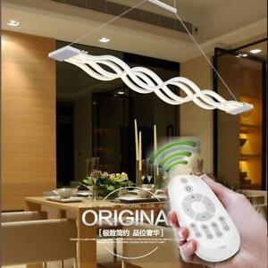 Dining Room Ceiling Fixtures Wave Design Lighting Lamp Modern Stylish Decoration