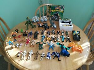 Big Mixed Lot Action Figures Power Rangers Chap Mei Star Wars Vintage Others