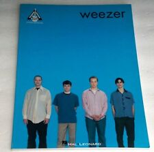 WEEZER Guitar Version Sheet Music Blue Song Book Buddy Holly Holiday No One Else