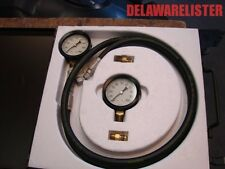 *Us Military Truck Marsh Instrument Co. Compound/Pressure Vacuum Gauge Set Nos