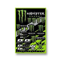 D'COR Decal Sheet 12x18 Thick Vinyls Livery Dirt Bike Sticker Pack MX Graphics