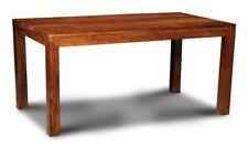 SHEESHAM FURNITURE CUBE DINING TABLE 160CM (5FT)  (C18)