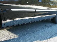 1992-2010 MERCURY GRAND MARQUIS 8PC STAINLESS STEEL ROCKER PANEL TRIM