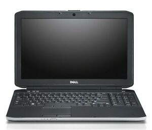 "DELL Latitude E5530 15.6"" Intel i5-3rd gen  8GB Ram 500GB HDD Windows 10 no web"