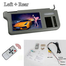 "7"" Left & Right Car Sun Visor Rear View Mirror LCD Monitor For DVD/VCD/GPS/TV"