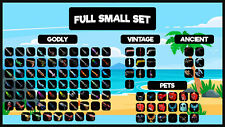Murder Mystery 2 - MM2 FULL SMALL SET ( All Godly, Ancient, Vintage Weapons + Pe